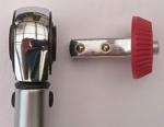 Foto von Kopf und Umsteckvierkant des KS Tools Drehmomentschlüssel - 516.6042 Ergotorque precision