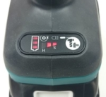 Foto vom Display des Makita DTW285