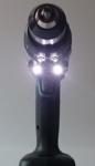 Foto vom hellen Doppel LED-Licht des Makita DDF 481