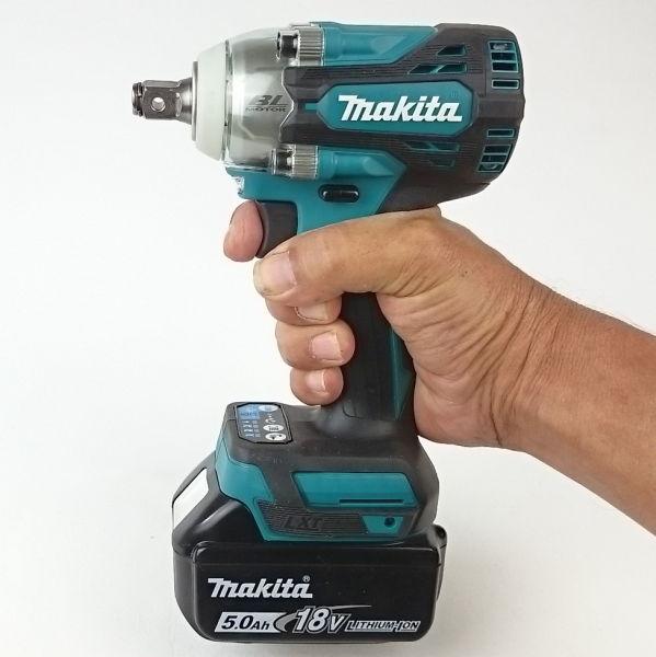Leicht, kompakt und handlich präsentiert sich der Makita DTW300
